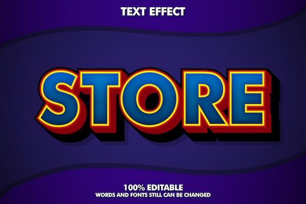 Effet de texte à la mode moderne pour un design moderne