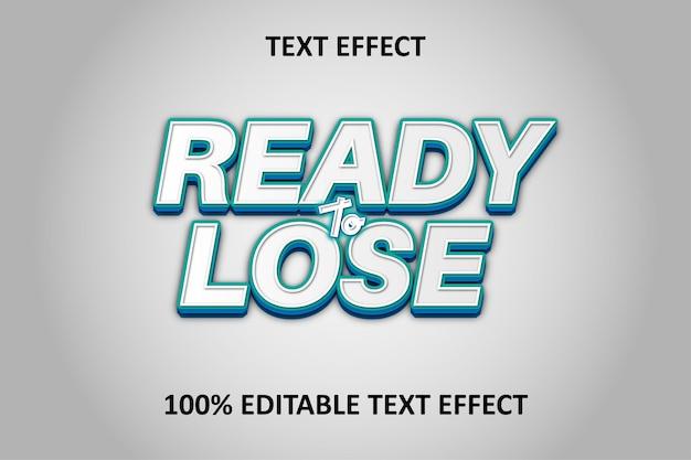Effet de texte modifiable argent vert bleu