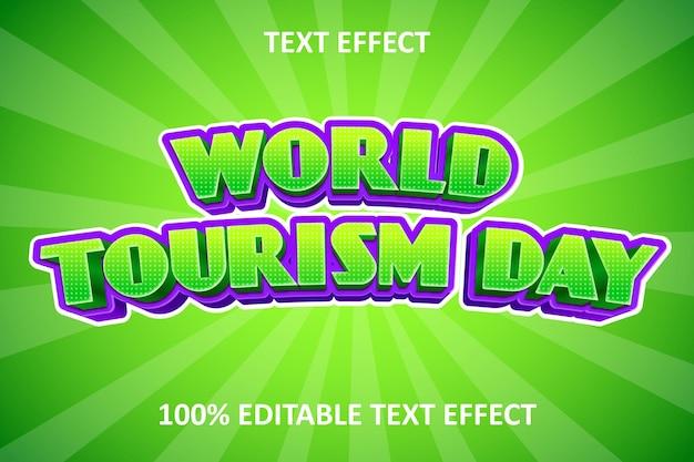 Effet de texte modifiable de bande dessinée fantaisie vert violet