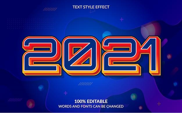 Effet de texte modifiable bonne année avec fond abstrait