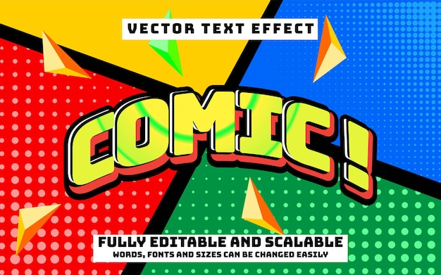 Effet de texte modifiable et changement de texte