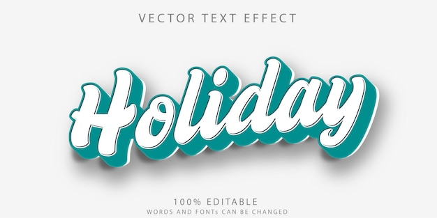 Effet de texte modifiable - concept de maquette de style de texte en peluche
