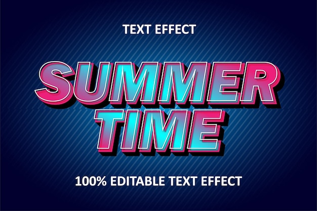 Effet de texte modifiable cyan rose