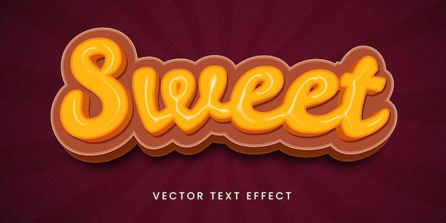 Effet de texte modifiable dans un style doux