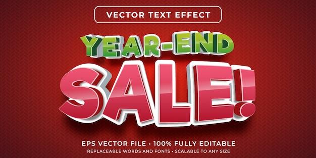 Effet de texte modifiable dans le style de vente à prix réduit