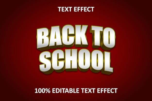 Effet de texte modifiable élégant or