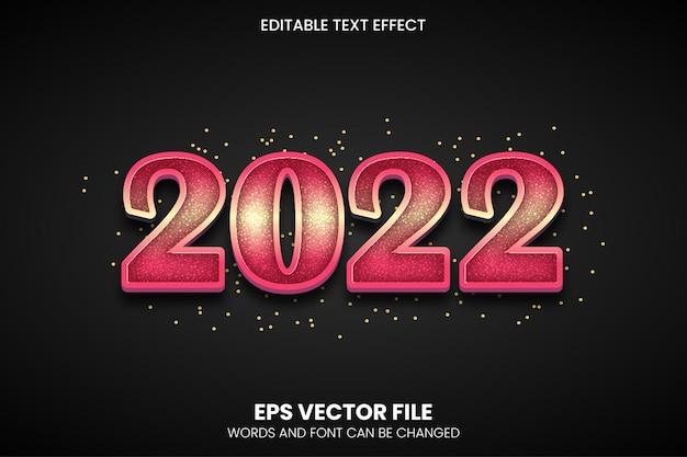 Effet de texte modifiable eps vectoriel 2022