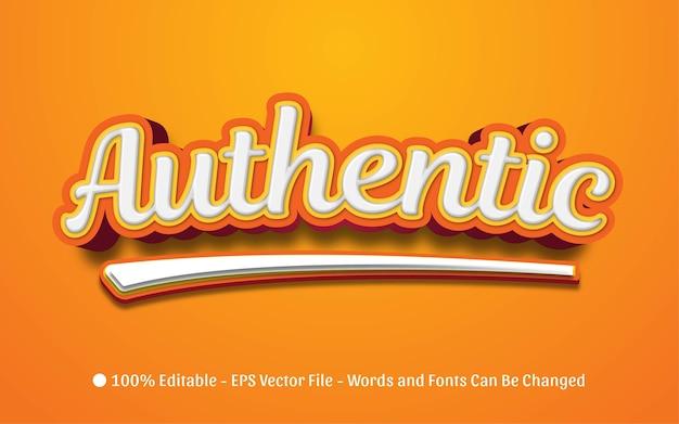 Effet de texte modifiable, illustrations de style authentique