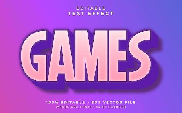 Effet de texte modifiable par les jeux