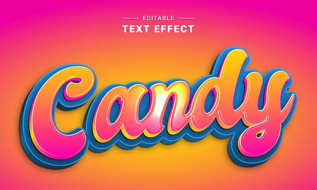 Effet de texte modifiable pour l'effet de texte nutri de l'illustrateur