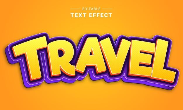 Effet de texte modifiable pour illustrateur effet de texte de dessin animé
