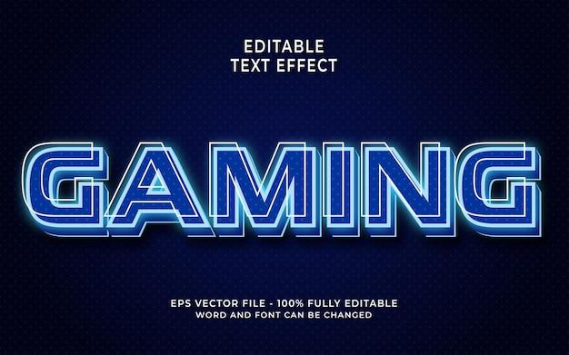 Effet de texte modifiable pour le jeu
