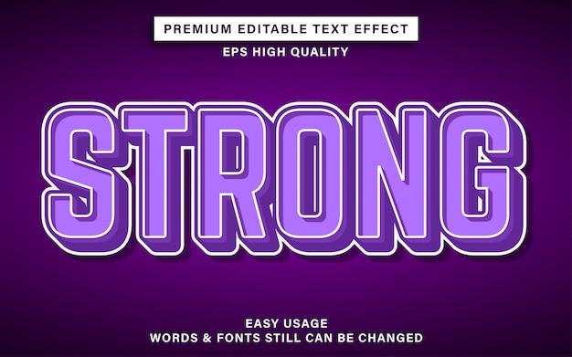 Effet de texte modifiable puissant