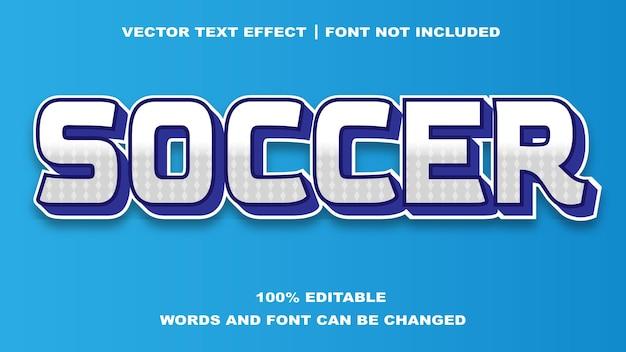 Effet de texte modifiable style soccer