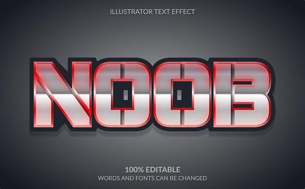 Effet de texte modifiable, style de texte audacieux fort pour le logo esport