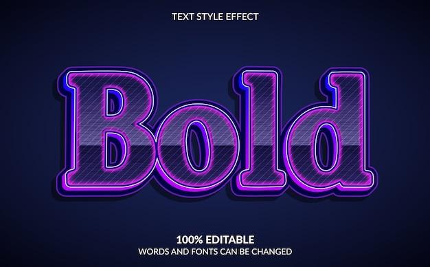 Effet de texte modifiable style de texte moderne et gras