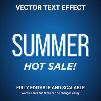 Effet de texte modifiable - style de texte remise
