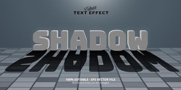 Effet de texte modifiable, texte d'ombre