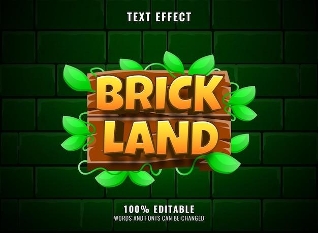 Effet de texte modifiable de titre de logo de jeu de diamant bleu de lames fantastiques de héros