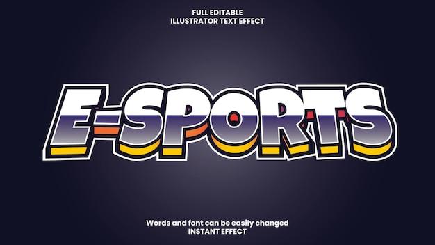Effet de texte modifiable violet et jaune de style comique moderne