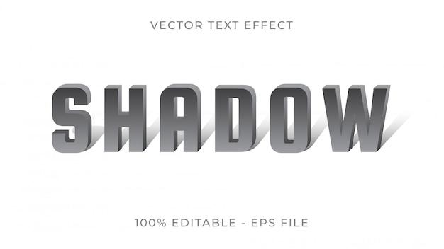 Effet de texte d'ombre