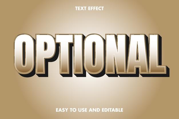Effet de texte optimal