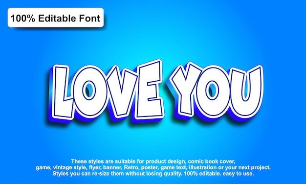 Effet de texte pour un effet futuriste cool, texte modifiable