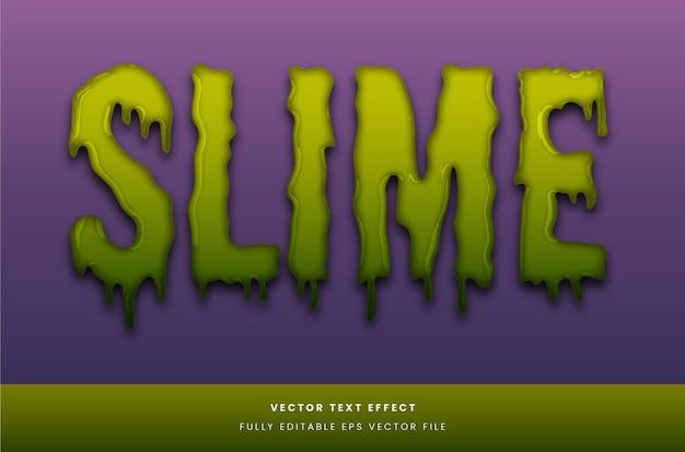 Effet de texte slime