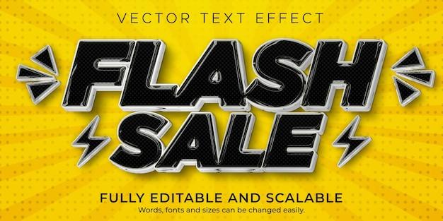 Effet de texte et style de texte modifiables de paillettes dorées