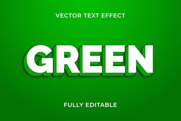 Effet de texte vert