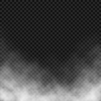 Effet de vecteur de brouillard ou de fumée.