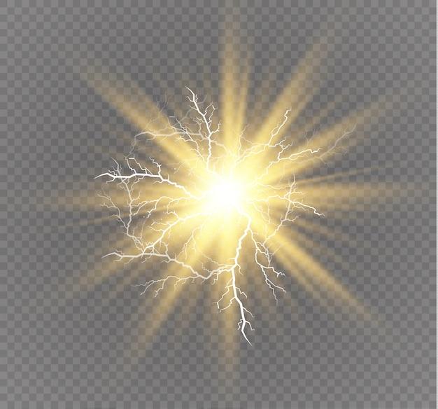 Effets d'éclairage magiques et lumineux.