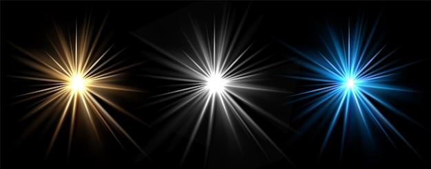 Effets De Lumière Vecteur Premium