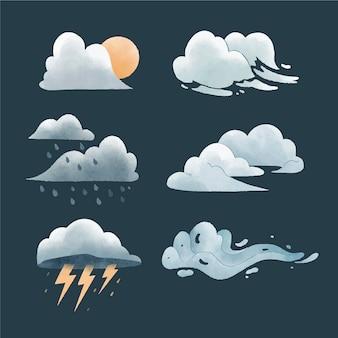Effets météo aquarelle