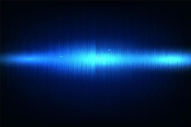Égaliseur de musique abstraite vagues de néon