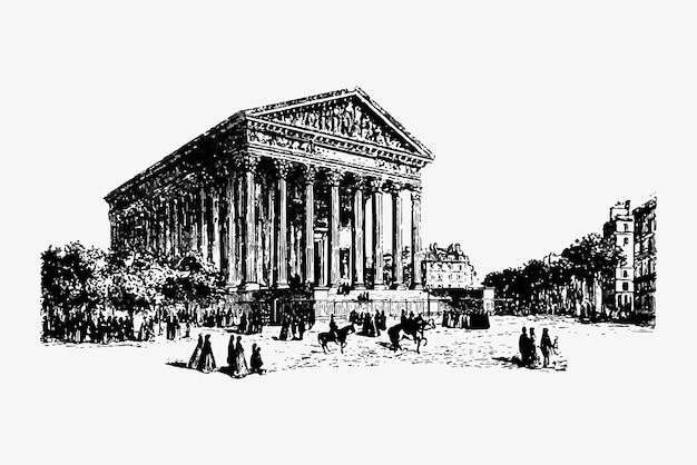 Eglise de la madeleine à paris