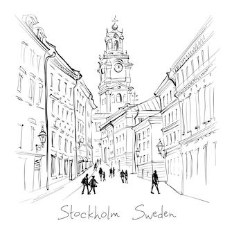 Église storkyrkan à stockholm, suède