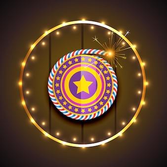 Élégant de diwali