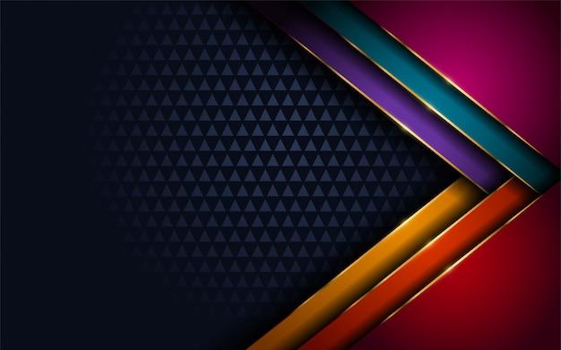 Élégant fond coloré moderne abstrait