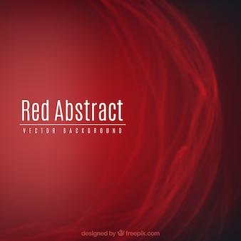 Élégant fond rouge abstrait