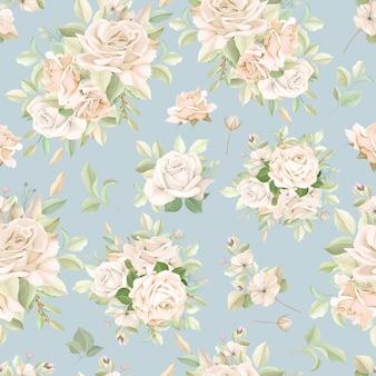 Élégant motif floral sans soudure