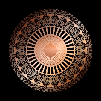 Élégant avec un motif de mandala décoratif