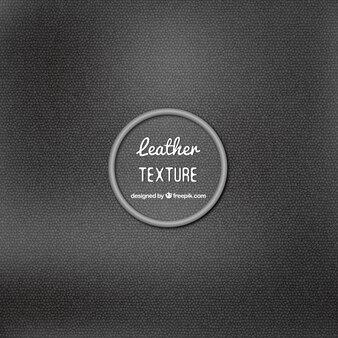 Élégant texture en cuir noir