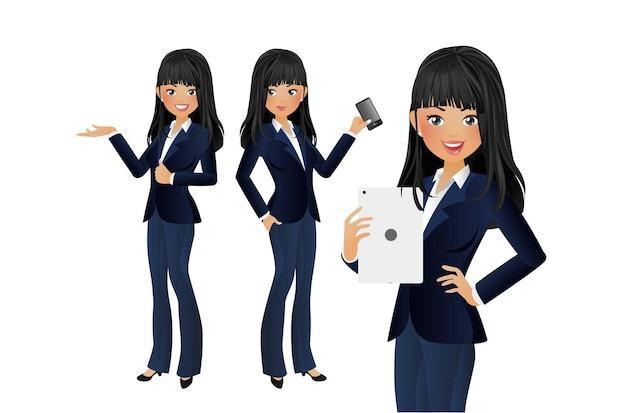 Élégante femme d'affaires