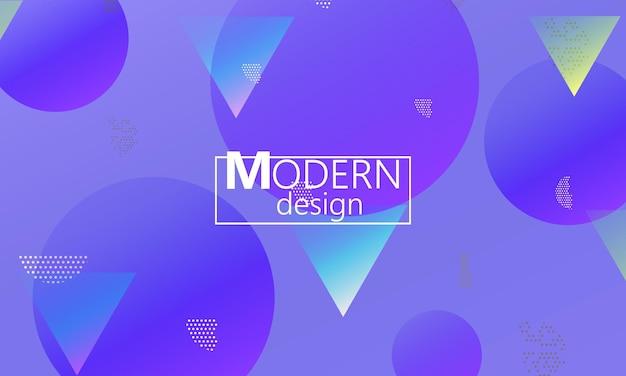 Élément d'arrière-plans de conception. fond d'écran coloré créatif. affiche dégradée à la mode. conception de couverture abstraite minimale. illustration vectorielle.