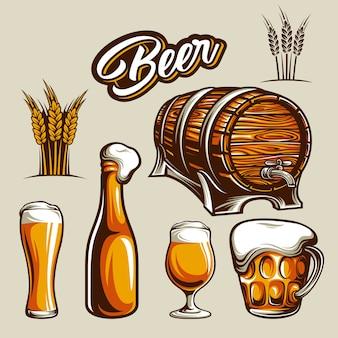 Élément de bière