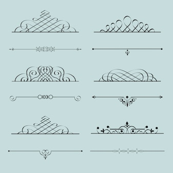 Élément calligraphique