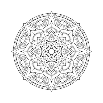 Élément de conception de mandala