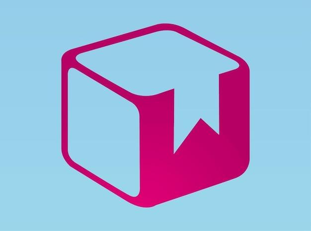 Élément de conception de vecteur de logo de la boîte