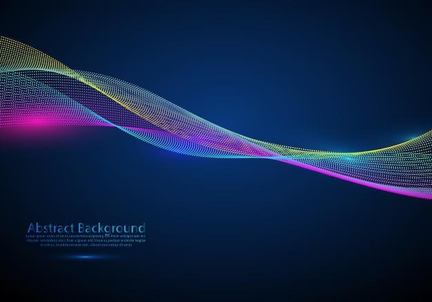 Élément de design vectoriel abstrait